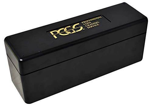 PCGS Plastic Storage Box for 20 Slab Coin Holders Black