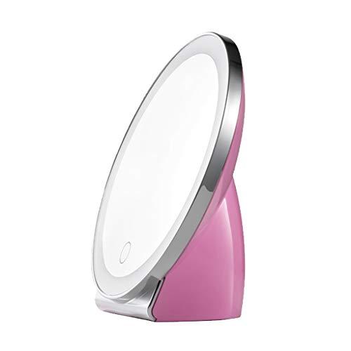 FLAMEER USB Power Supply Lamp Lampe De Table Miroir pour Maquillage Cosmétique - Rose