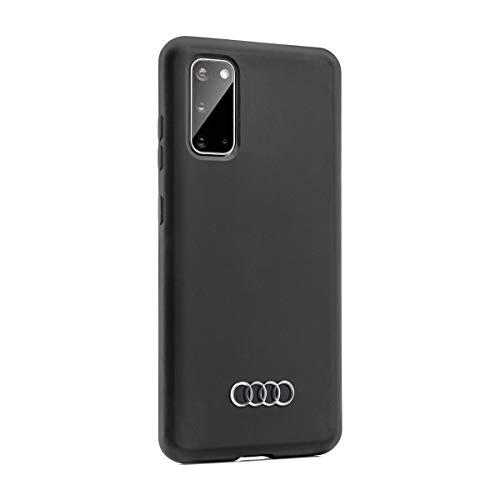Audi collection 3222000202 Smartphone Hülle Schutzhülle Cover Mobiltelefon, für Samsung S20, Schwarz