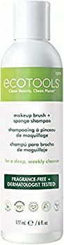 Ecotools Makeup Cleaner for Brushes Brush and Sponge Cleansing Shampoo 6 oz  Packaging May Vary