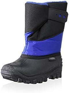 Tundra Kid's Pueblo Snow Boot (Toddler/Little Kid) Black/Royal 9 Toddler M [並行輸入品]