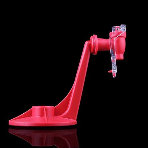 Atractivo Protector de Material de Aislamiento Botella de refresco Coca-Cola Boca Abajo Agua Potable Dispensador Máquina Gadget Party Home Bar Cloverclover