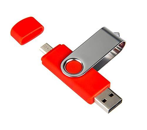 Fablcrew 64GB Kartenleser für Smartphone/Tablet (mit Schutzkappe, passend für microSD/HC/XC, USB 2.0)