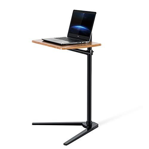 Thingy Club Beistelltisch für Bett oder Sofa, höhenverstellbarer Laptoptisch Schwarz - Hickory Board