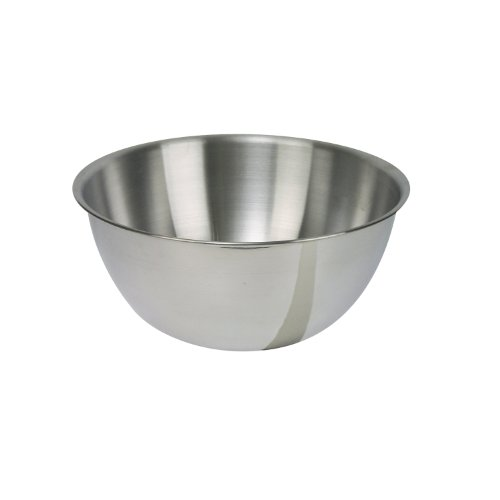 Dexam 17830424 Stainless Steel mixing bowl, 1.0 Litre, Silver