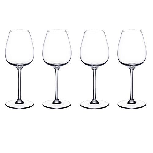 Juego de Copas de Vino Blanco Frescas y pulverizadas de 4 Piezas. Purismo Villeroy und Boch - Copa de Vino