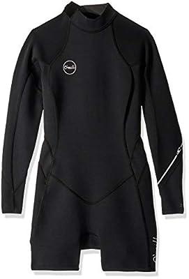 O'Neill Wetsuits Women's Bahia 2/1mm Back Zip Long Sleeve