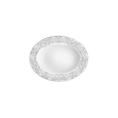 Lismore Lace Platinum Vegetable Bowl