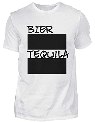 SPIRITSHIRTSHOP Lot de 12 craies pour Homme et bière Tequila - avec Craie - Blanc - XX-Large