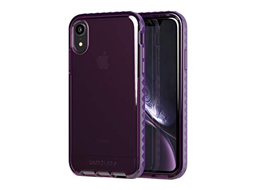 tech21 Evo Rox for Apple iPhone XR with 12 ft. Drop Protection - Deep Purple