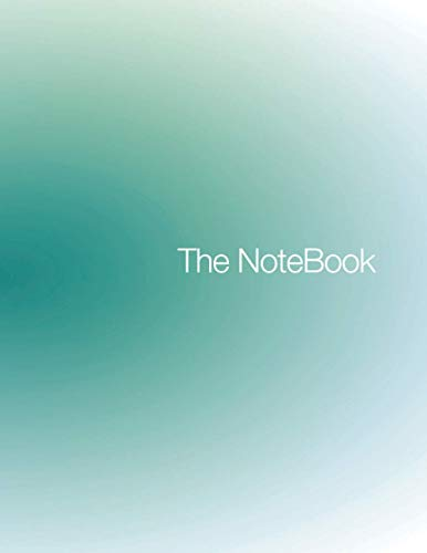 The Notebook: Green Cover, Large Letter Size and an Organized Page with a 4 Sections Layout for: Note Taking, Opening Remarks, Attendees, Timeline, ... Ideas, Brainstorming and Thinking Process.