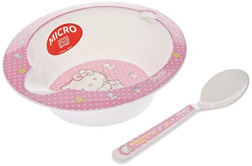 Stor - Set 2 piezas para microondas Hello Kitty rosa