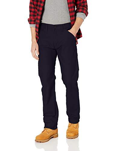 Levi's Herren Workwear 505 Regular Fit Utility Pant Arbeitshose, Nightwatch Blue - Stretch Canvas, 42W / 34L