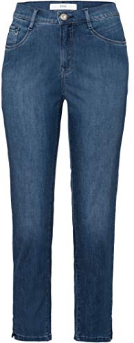 BRAX Damen Style Mary S Ultralight Denim Slim Jeans, Used Regular Blue, W31/L32 (Herstellergröße:40)