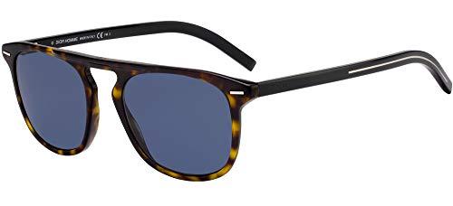 Dior Sonnenbrillen Black TIE 249S Dark Havana/Blue Herrenbrillen