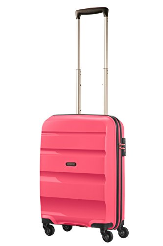 American Tourister Bon Air Spinner Hand Luggage 55 cm, 32 L, Pink (Fresh Pink)