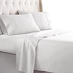 white cotton sheets keep home cooler