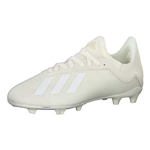 adidas X 18.3 FG J Fußballschuhe, Mehrfarbig (Casbla/Ftwbla/Casbla 0), 35 EU
