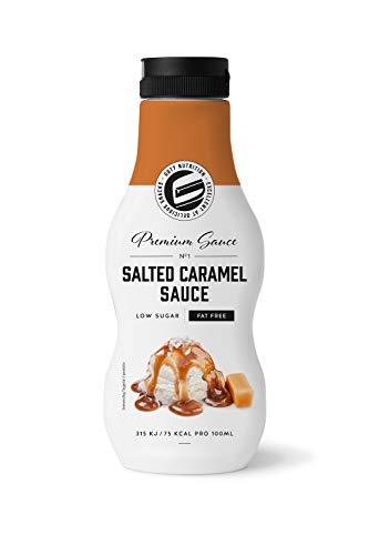 Got7 Sweet Premium Sauce Sirup Dessertsauce Diät wenig Kalorien - Salted Caramel - Gesalzener Karamell - 250ml