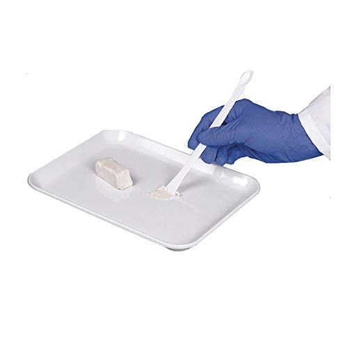 Burkle 5378-0031 Laboplast - Cuchara con espátula (100 unidades)