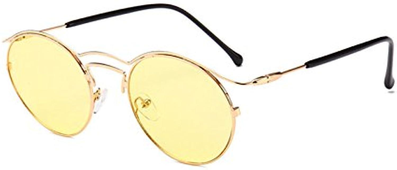 ZHANGYUSEN 2018 New New New Round Frame Vintage Sunglasses Trendy Brand Small Frame Glasses Crafts Farbeful Sunglasses Uv400 B07DPGNBDG  Fein wild aab603