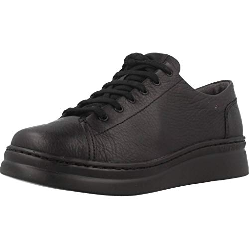 CAMPER Mädchen Runner Up Sneaker, Schwarz (Black 1), 35 EU