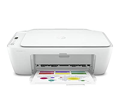 HP DeskJet 2724 All-in-One Printer with Wireless Printing, Instant Ink with 2 Months Trial, White