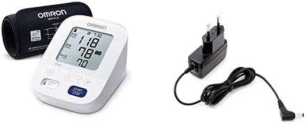 OMRON X3 Comfort Tensiomètre Bras, Technologie Brassard Intelli Wrap + OMRON Adaptateur Secteur AC pour Tensiomètre M...