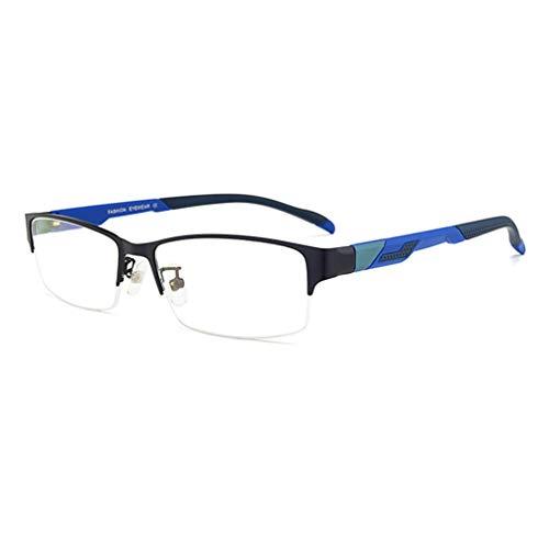 Progressive multifokale Lesebrille für Herren, Dual-Use-Brillen für nah und fern, komfortable Nasenpads, Flexibler TR-Bügel, mehrere Farbtypen