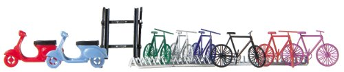 Great Deal! Busch 6013 Bicycle & Scooter Set HO Scale Scenery Kit