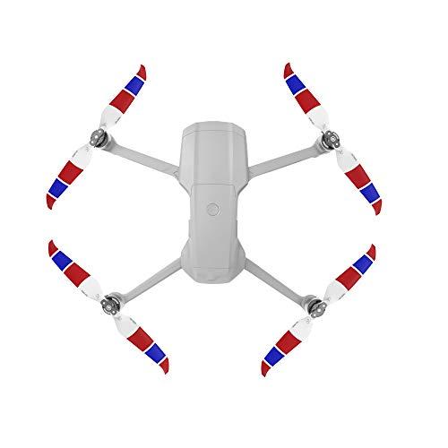 CUEYU Propeller für DJI Mavic Air 2 Drone, 4 Stück Multicolor Drone Propeller Blades Schnellwechsel Propeller Faltbare Wings Zubehör Teile für DJI Mavic Air 2 (D)