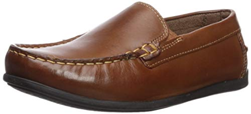 Florsheim Kids Boy's Jasper Venetian, Jr. Shoe, Saddle Tan, 13.5 M US Little Kid