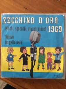 1905 7'-45 giri' Zecchino D'Oro 1969 VINYL