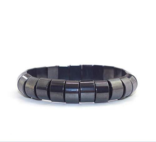 JYHW Charm Männer Frau Armband Hämatit Magnetic Weight Loss Abnehmen Armreifen Black Gallstone Acupoint Massage Gesundheitswesen Accessori
