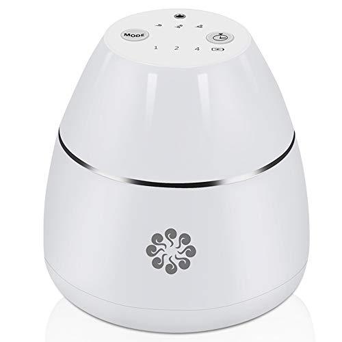 SYXZ Auto-Diffusor mit ätherischen Ölen, tragbarer USB- oder batteriebetriebener, wasserloser Aromatherapie-Diffusor für Office Travel Home Vehicle,Weiß