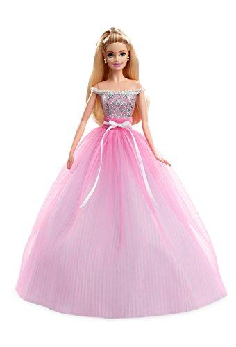 Barbie Collector, Muñeca feliz cumpleaños 2017 (Mattel DVP49)