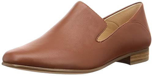 Clarks Pure Viola, Mocasines para Mujer, Marrón (Tan Leather Tan Leather), 42 EU