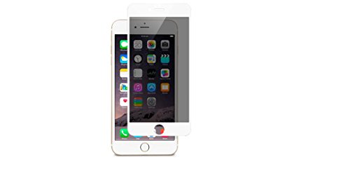 Moshi iVisor Glass Privacy Screen Protector for iPhone 6 Plus - White OPEN BOX