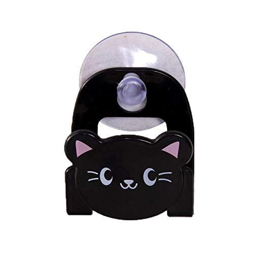 PCLRXA home opslaggereedschap, 1 st. Zwarte muur multifunctionele zuigschijf, sponsklep, opbergkast, badkameraccessoires, kleine voorwerpen, onderstel, keukenaccessoires, wastafel, opberghouder