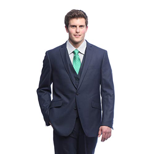 Men's Sequin String of Lights Christmas Suit Separates - Holiday Blazer + Tie and Christmas Pants Sold Separately (Black Blazer, 50)