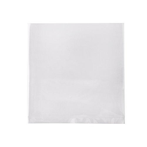 Owlpack Clear 1.5 Mil Poly Bags with Open End   Apparel Packaging, Party Favors, Proving Baking Supplies (4 x 4 Inches, Pack of 1000)