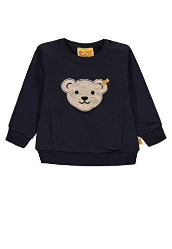 Steiff Steiff Baby-Jungen 1/1 Arm Sweatshirt, Blau (Marine|Blue 3032), 116