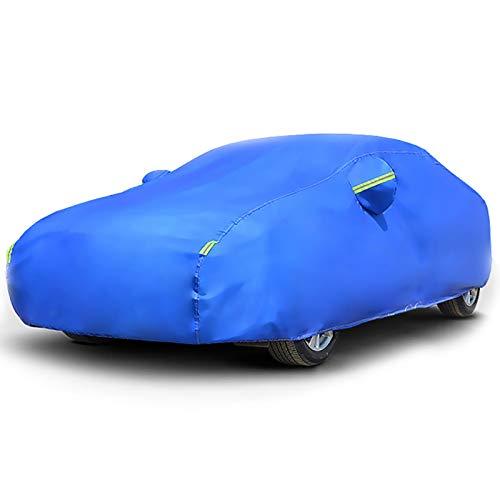 Whitejianpeak Compatible con Fundas de Coche Peugeot 208, Revestimiento Impermeable, Tapa de Coche de Engrosamiento de Uso General para Uso en Interiores y Exteriores