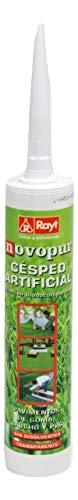 Rayt 1315-13 Novopur eencomponenten-polyurethaan lijmpatroon voor kunstgras en ook rubber-, rubber- en pvc-vloeren. Kleur: groen droogt in 30 minuten, 300 ml.