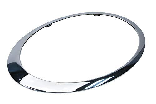 URO Parts 51137149906 Headlight Trim Ring, Right, Chrome
