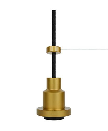 LEDVANCE Vintage Edition 1906, Pendulum, gold, E27-Fassung, Deckenleuchte, flexibles Zugseilsystem, IP20, Gehäuse aus Aluminium