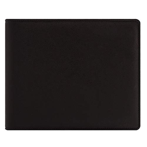 yangdan HF Bloc de notas de papelería, suministros de oficina de negocios, hojas sueltas, A5, cuaderno extraíble con tapa (color: negro)