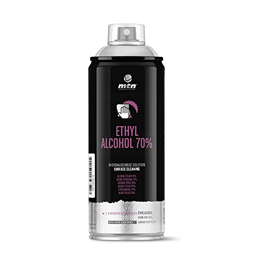 Montana Colors MTN Pro Alcohol Etílico 70% Spray, 400ml