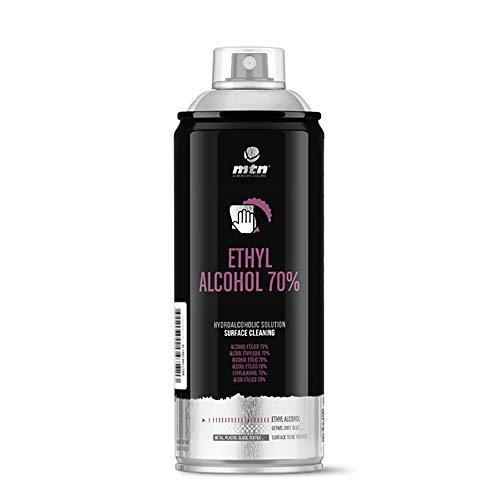 Montana Colors MTN Pro Alcohol Etílico 70% Spray, 400ml, 400