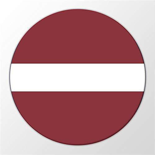 Kühlschrank Magnet Latvia Lettland Flagge Europa Ostsee Magnettafel Whiteboard